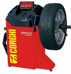 Corghi EM9250 Digital Wheel Balancer