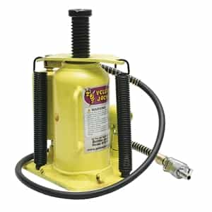Yellow Jackit by Esco 1044620 Ton Air/Hydraulic Bottle Jack