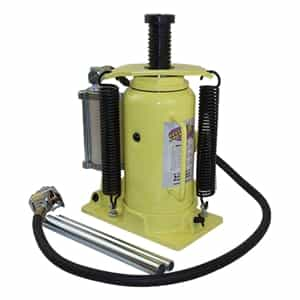 Yellow Jackit by Esco 10450 20 Ton Air/Hydraulic Bottle Jack