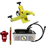 "Yellow Jackit by Esco Equipment 10820 ""Combi"" Tire Bead Breaker Kit w/5Q Air Pump - ESC10820"