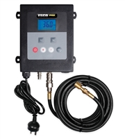 Esco Equipment 10964 Steel Wall Mounted Tire Inflator w/ Digital Display & Clip on Chuck - ESC10964
