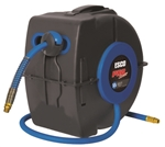 Esco Equipment 10971 Pro Series Extreme Ultraflex 25 ft. Air Hose Reel - ESC10971