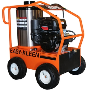 Easy-Kleen EZO3504G-K 14HP Gearbox Driven Commercial Hot Water Gas Pressure Cleaner w/Kohler Engine