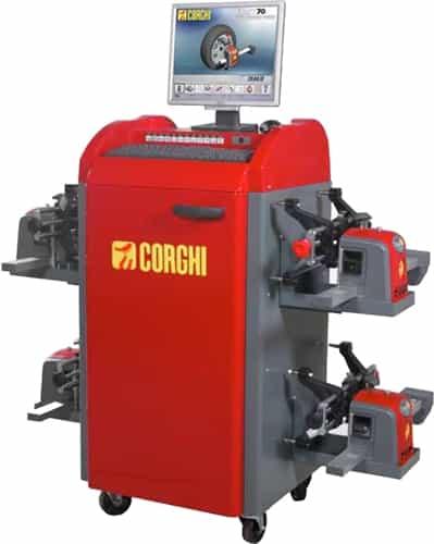 Wheel Alignment Machine >> Corghi Exact 70 Wheel Alignment System