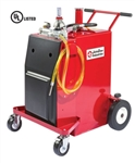 JohnDow Industries FC-P30A-UL PRO30 Plus 30 Gallon UL Listed Steel Gas Caddy w/Air Operated Pump