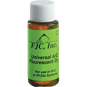 FJC Inc Universal A/C Fluorescent Leak Detection Dye - 1 oz. FJC4910