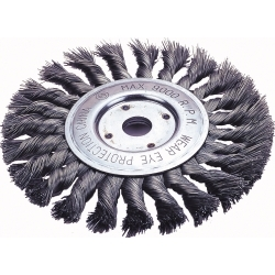 "Firepower 6"" Knotted Wheel Brush FPW1423-2120"