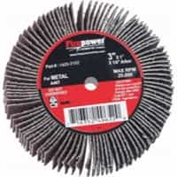 "Firepower 3"" x 1"" x 1/4"" 80 Grit Flap Wheel FPW1423-2152"