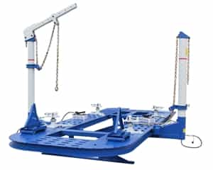 Nationwide FR-77-20 7.7K Steel Platform Frame Straightener w/20-foot Deck