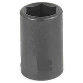 "Grey Pneumatic 3/8"" Drive Standard Metric Impact Socket - 8mm GRE1008M"