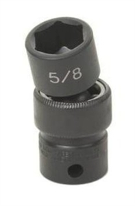 "Grey Pneumatic 3/8"" Drive 10mm Metric Universal Impact Socket GRE1010UM"
