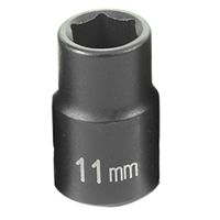 "Grey Pneumatic 3/8"" Drive 11mm Standard Metric Impact Socket GRE1011M"