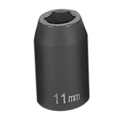 "Grey Pneumatic 1/2"" Drive 11mm Standard Metric Impact Socket GRE2011M"