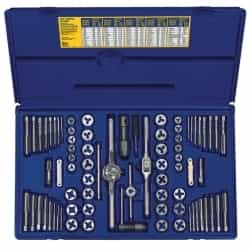 Hanson 76 Piece SAE/Metric Tap/Die Super Set HAN26376
