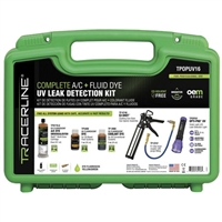 Tracer Products Tracerline TPOPUV16 Complete A/C & Fluid Dye UV Leak Detection Kit - HBF-TPOPUV16