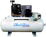 BelAire 318H 5 HP 80G Two Stage Single Phase Electric Reciprocating Air Compressor P/N 8090250008