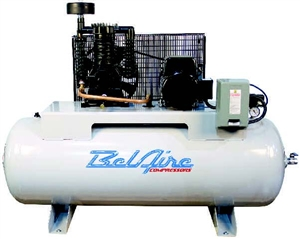 "BelAire 318HLE 7.5 HP 80G Horizontal Single Phase ""Elite"" Compressor /N 8090250011"