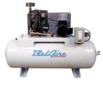 BelAire 338HL 7.5HP 80G Horizontal Two Stage Three Phase Electric Air Compressor P/N 8090250024
