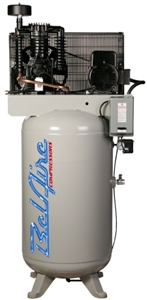 "BelAire 338VE 5 HP 80G Three Phase ""Elite"" Air Compressor P/N 8090250027"