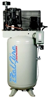 BelAire 338VL 7.5HP 80V Gal. Two Stage Three Phase Electric Air Compressor P/N 8090250028