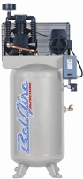BelAire 338VL4 7.5HP 80G Vertical Two Stage Three Phase Electric Air Compressor P/N 8090250034