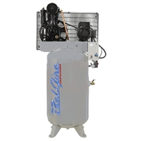 BelAire 438VL4 7.5HP 80G Iron Series Three Phase Electric Air Compressor P/N  8090253181