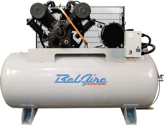 Electric Air Compressor >> Belaire 6312h 10hp 120g H Iron Series Elec Air Compressor