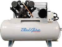 BelAire 6312H4 10HP 120G Iron Series Three Phase Electric Air Compressor P/N 8090253249