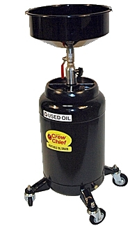 JohnDow Industries 16 Gallon Steel Oil Drain Tank