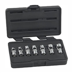 "KD Tools 7 Piece 3/8"" Drive SAE 6 Point Flex Socket Set KDT80564"