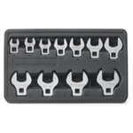 "KD Tools 3/8"" Drive 11 Piece SAE Crowfoot Wrench Set KDT81908"