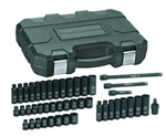 "GearWrench® 84916N 44 Pc. 3/8"" Drive 6 Point Standard & Deep Impact SAE/Metric Socket Set - KDT-84916N"