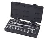 "GearWrench 893823 23 Pc. 3/8"" Drive Pass-Thru™ 6 Point Standard SAE/Metric Mechanics Tool Set - KDT-893823"