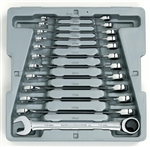 KD Tools 9412 12 Piece Metric Combination Gearwrench Set KDT9412