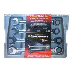 KD Tools 4 Piece Jumbo Metric Combination Gearwrench Set KDT9413