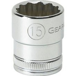 "KD Tools 1/4"" Drive 4mm 12 Point Standard Socket KDT80197"
