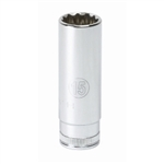 "KD Tools 1/4"" Drive 15mm 12 Point Deep Socket KDT80242"