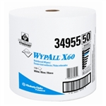 Kimberly Clark Wyp® X60 Teri Reinforced Jumbo Roll Wipers KIM34955