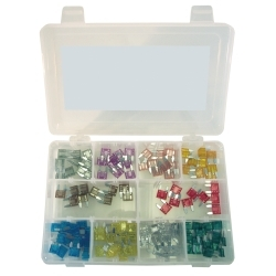 K Tool International 120 Piece Mini Auto Fuse Assortment KTI00081