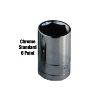 K Tool International 1/4in. Drive Standard 6 Point Socket 3/16in. KTI21106