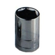 K Tool International 3/8in. Drive 11/16in. Standard 6 Point Chrome Socket  KTI22122