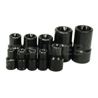 K Tool International 10 Piece External Torx Socket KTI22671