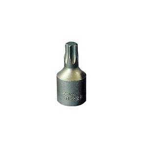 K Tool International 3/8in. Drive T-40 Chrome Vanadium Steel Torx Impact Socket KTI22840