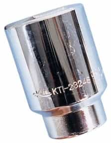 "K Tool International 1/2"" Drive 1-1/2"" Deep 6 Point Chrome Socket KTI23248"