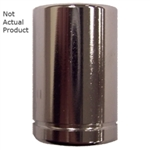 "K Tool International 1/4"" Drive 14mm 6 Point Shallow Chrome Socket KTI26114"