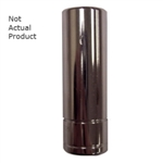 "K Tool International 1/4"" Drive 15mm 6 Point Deep Chrome Socket KTI26215"
