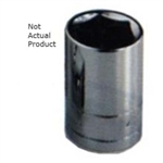 "K Tool International 1/2"" Drive 14mm 6 Point Shallow Chrome Socket KTI28114"