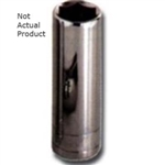 "K Tool International 1/2"" Drive 11mm 6 Point Deep Chrome Socket KTI28211"