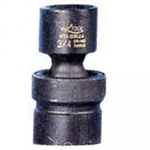 "K Tool International 1/2"" Drive Swivel 6 Point Impact Socket 17mm KTI38517"