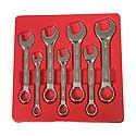 K Tool International 1/2in. 12 Point Short Panel High Polish Combination Wrench KTI41216